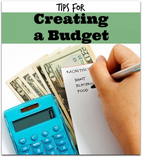creating budget tips